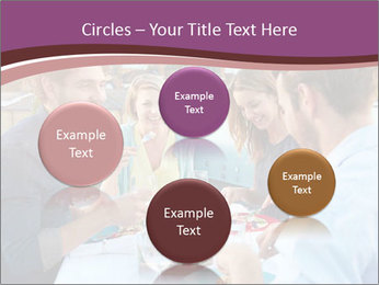 Friends Having Lunch Together PowerPoint Templates - Slide 77