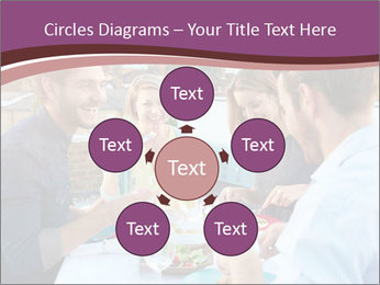 Friends Having Lunch Together PowerPoint Templates - Slide 78