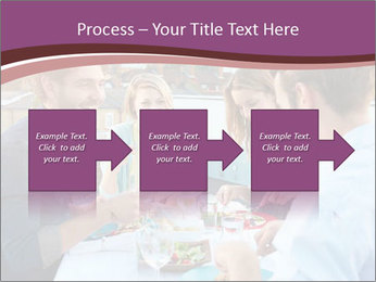Friends Having Lunch Together PowerPoint Templates - Slide 88
