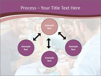 Friends Having Lunch Together PowerPoint Templates - Slide 91