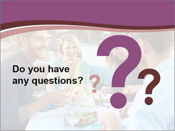 Friends Having Lunch Together PowerPoint Templates - Slide 96