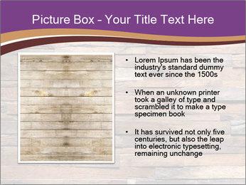 Wooden Deck PowerPoint Template - Slide 13