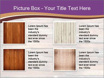Wooden Deck PowerPoint Template - Slide 14