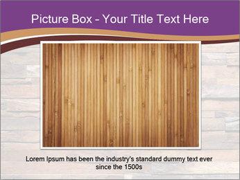 Wooden Deck PowerPoint Template - Slide 15