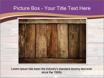 Wooden Deck PowerPoint Template - Slide 16
