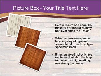 Wooden Deck PowerPoint Template - Slide 17