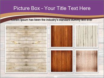 Wooden Deck PowerPoint Template - Slide 19