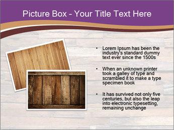 Wooden Deck PowerPoint Template - Slide 20