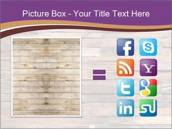 Wooden Deck PowerPoint Template - Slide 21