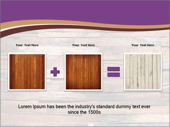 Wooden Deck PowerPoint Template - Slide 22