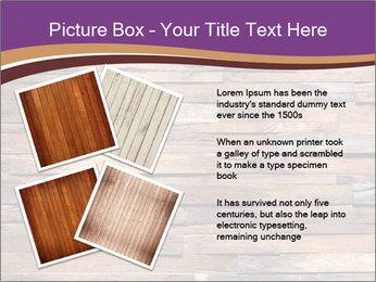 Wooden Deck PowerPoint Template - Slide 23