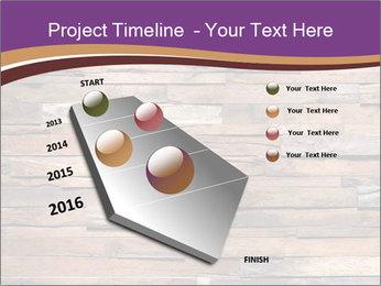 Wooden Deck PowerPoint Template - Slide 26