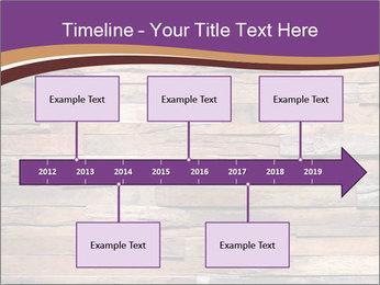 Wooden Deck PowerPoint Template - Slide 28