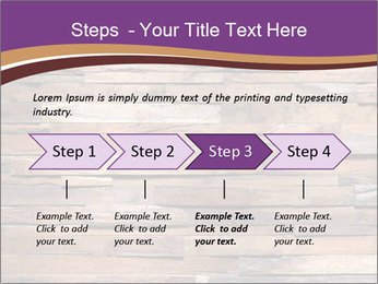 Wooden Deck PowerPoint Template - Slide 4