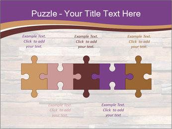Wooden Deck PowerPoint Template - Slide 41
