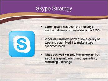 Wooden Deck PowerPoint Template - Slide 8