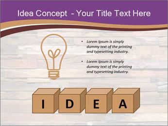 Wooden Deck PowerPoint Template - Slide 80