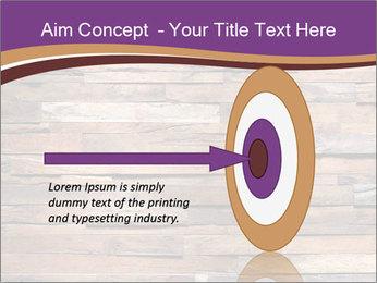 Wooden Deck PowerPoint Template - Slide 83