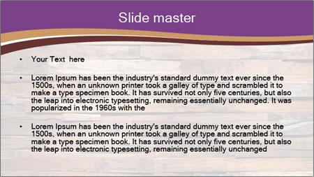Wooden Deck PowerPoint Template - Slide 2