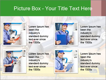 Building Plan Work PowerPoint Templates - Slide 14