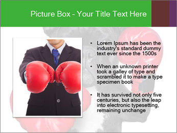 French Bulldog In Red Boxing Gloves PowerPoint Templates - Slide 13