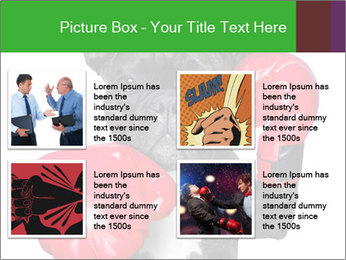 French Bulldog In Red Boxing Gloves PowerPoint Templates - Slide 14