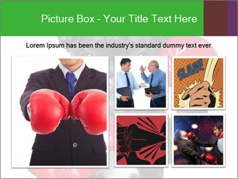 French Bulldog In Red Boxing Gloves PowerPoint Templates - Slide 19