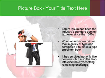 French Bulldog In Red Boxing Gloves PowerPoint Templates - Slide 20