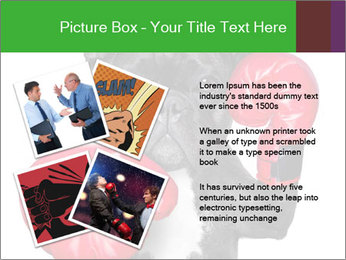 French Bulldog In Red Boxing Gloves PowerPoint Templates - Slide 23