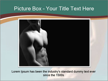 Man With Strong Abs PowerPoint Templates - Slide 15