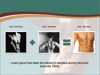 Man With Strong Abs PowerPoint Templates - Slide 22