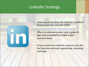 Man Cleans Wooden Terrace PowerPoint Template - Slide 12