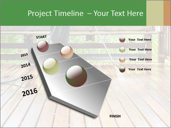Man Cleans Wooden Terrace PowerPoint Template - Slide 26