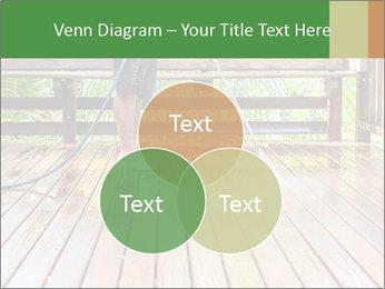 Man Cleans Wooden Terrace PowerPoint Templates - Slide 33