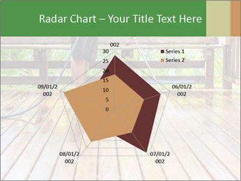 Man Cleans Wooden Terrace PowerPoint Template - Slide 51