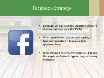 Man Cleans Wooden Terrace PowerPoint Templates - Slide 6