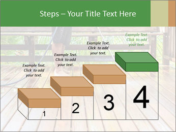 Man Cleans Wooden Terrace PowerPoint Template - Slide 64