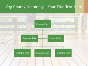 Man Cleans Wooden Terrace PowerPoint Template - Slide 66