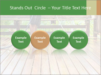 Man Cleans Wooden Terrace PowerPoint Template - Slide 76