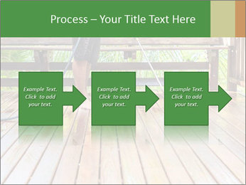 Man Cleans Wooden Terrace PowerPoint Template - Slide 88