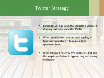 Man Cleans Wooden Terrace PowerPoint Template - Slide 9