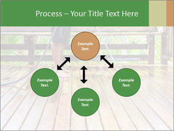 Man Cleans Wooden Terrace PowerPoint Template - Slide 91
