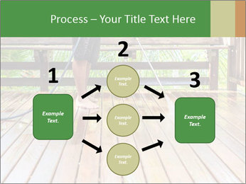 Man Cleans Wooden Terrace PowerPoint Template - Slide 92