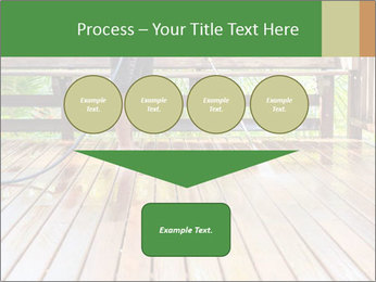 Man Cleans Wooden Terrace PowerPoint Template - Slide 93