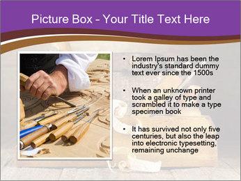 Wood Work PowerPoint Template - Slide 13