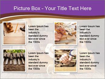 Wood Work PowerPoint Template - Slide 14