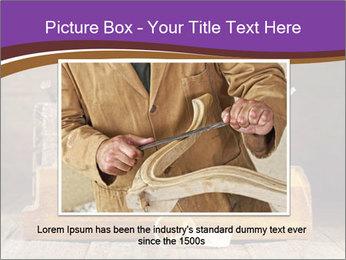 Wood Work PowerPoint Template - Slide 15
