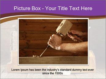 Wood Work PowerPoint Template - Slide 16
