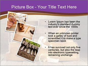 Wood Work PowerPoint Template - Slide 17