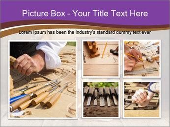 Wood Work PowerPoint Template - Slide 19